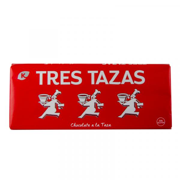 chocolate tres tazas